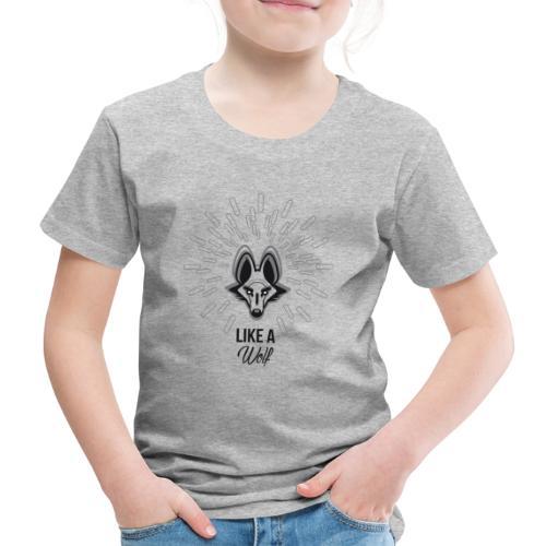 loup gris - T-shirt Premium Enfant