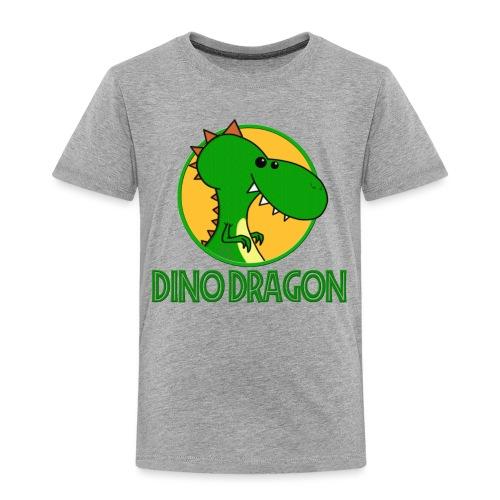 Dino Dragon - Børne premium T-shirt