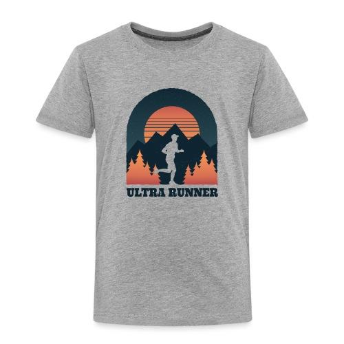 Ultra Runner - Ultralauf Ultramarathon Geschenk - Kinder Premium T-Shirt