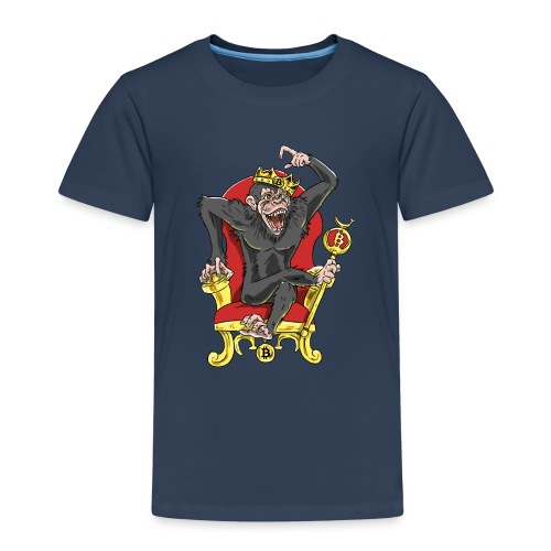 Bitcoin Monkey King - Beta Edition - Kinder Premium T-Shirt
