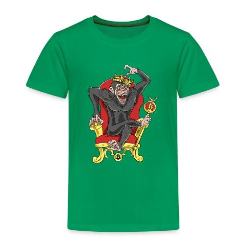 Bitcoin Monkey King - Beta Edition - Kinder Premium T-Shirt