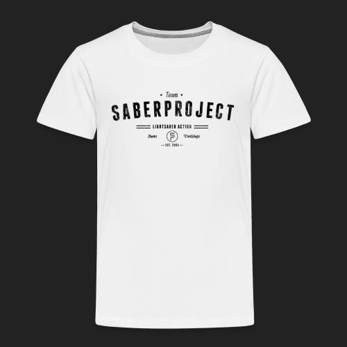Vintage Lightsaber Action - Kinder Premium T-Shirt