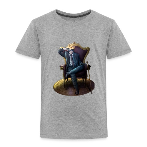 Bitcoin Monkey King - Gamma Edition - Kinder Premium T-Shirt