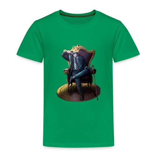 Bitcoin Monkey King - Gamma Edition - Kinder Premium T-Shirt