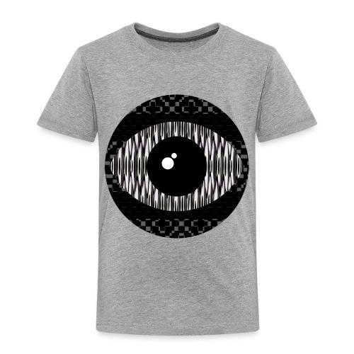 svart konstigt öga - Premium-T-shirt barn
