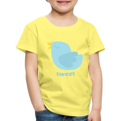 tweet - Børne premium T-shirt