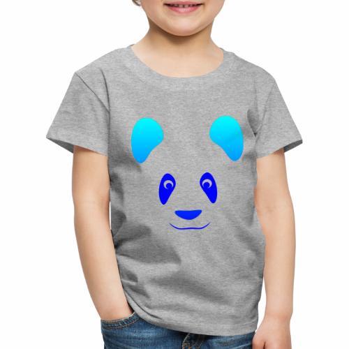 Happy Panda - Blue - Kids' Premium T-Shirt