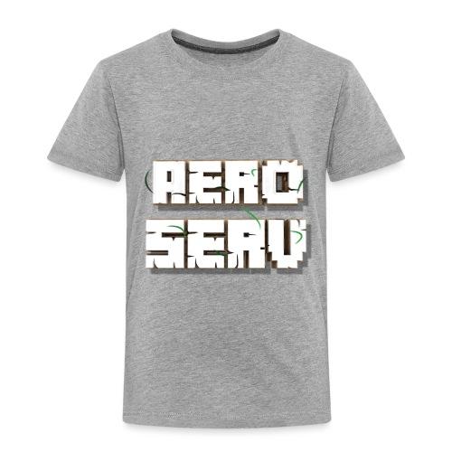 Logo AeroServ - Blanc - T-shirt Premium Enfant