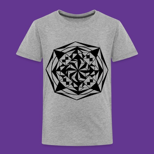 Geometrie Mandala Muster - Kinder Premium T-Shirt