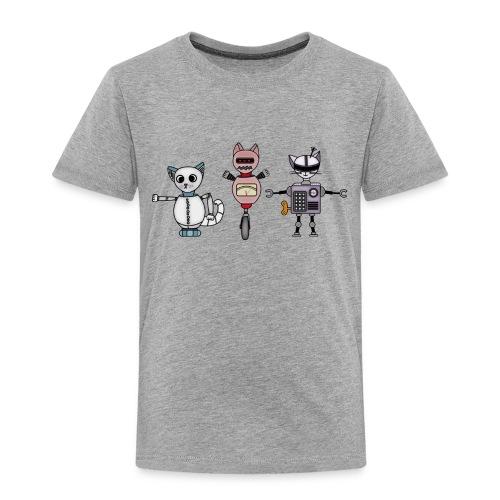 catbots - Premium-T-shirt barn
