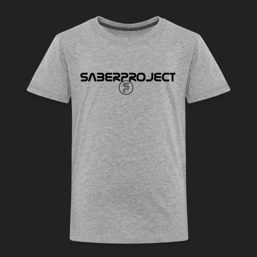 Saberproject Schriftzug - Kinder Premium T-Shirt