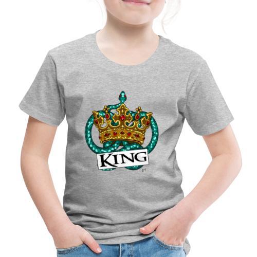 KING - Maglietta Premium per bambini