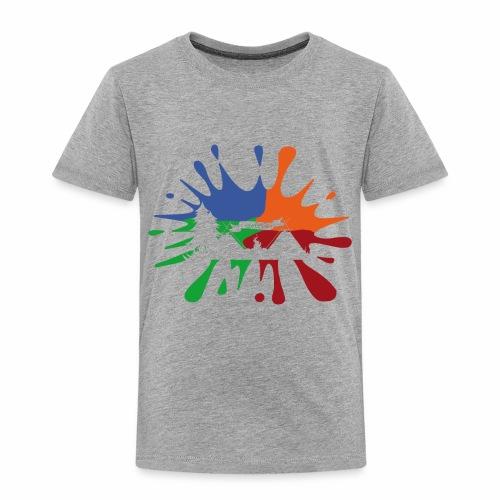 Farbklecks-Lager - Kinder Premium T-Shirt