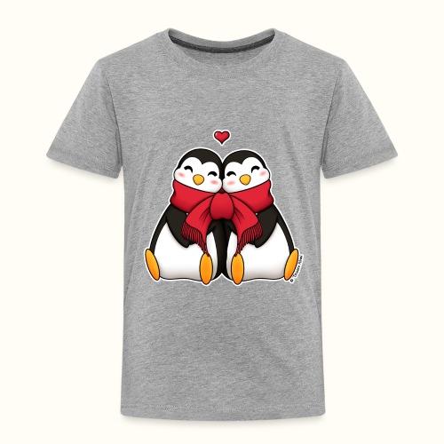 Pinguini innamorati - Maglietta Premium per bambini