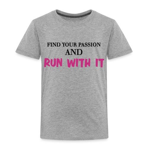 run with it - Kids' Premium T-Shirt