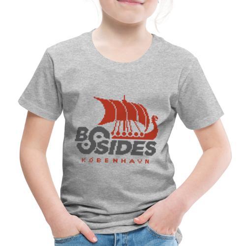 BSides Kbh 8 Bit Edition - Børne premium T-shirt