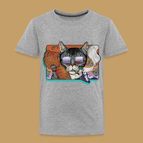 Crime Cat in Shades - Koszulka dziecięca Premium
