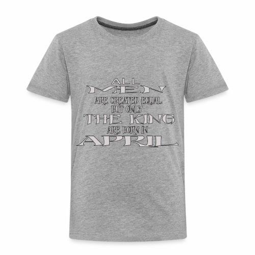 KING AVRIL - T-shirt Premium Enfant