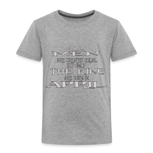 KING AVRIL - T-shirt Premium Enfant