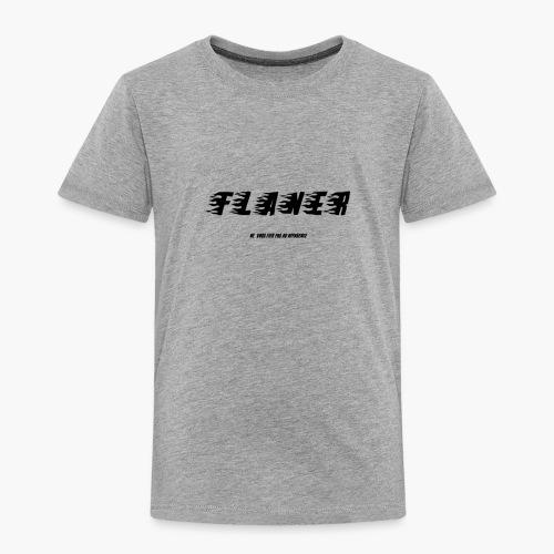 Logo Flaner Noir - T-shirt Premium Enfant