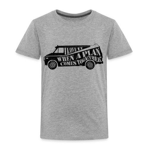 A Team Van Quote - Kids' Premium T-Shirt