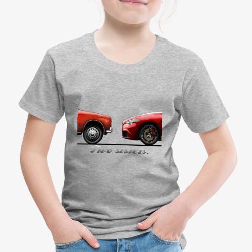 Alfa Giulia Old and New - Maglietta Premium per bambini