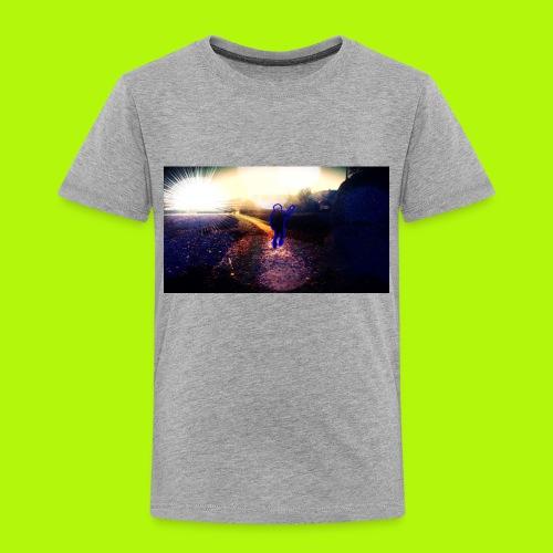 Hoodie Grau | Handyhülle samsung - Kinder Premium T-Shirt