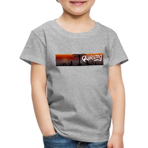 Knuud und Ksavver Comics Heisse Leine - Kinder Premium T-Shirt