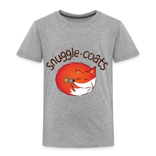 snugglecoatsfinal png - Kids' Premium T-Shirt