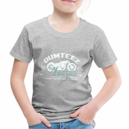 Dum Bike White - Kinderen Premium T-shirt