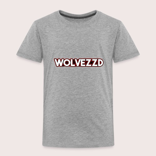 WolvezzD merch logo - Kinderen Premium T-shirt