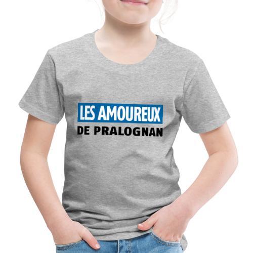 les amoureux de pralognan texte - T-shirt Premium Enfant