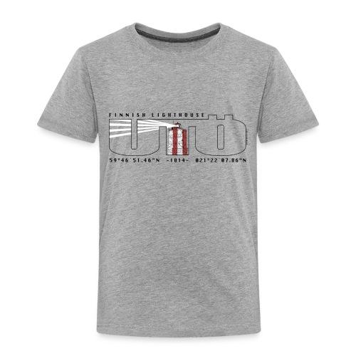 UTÖ MAJAKKASAARI Merelliset tekstiilit ja lahjat - Lasten premium t-paita