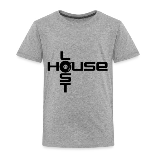 Lost In House Logo Black - Kids' Premium T-Shirt