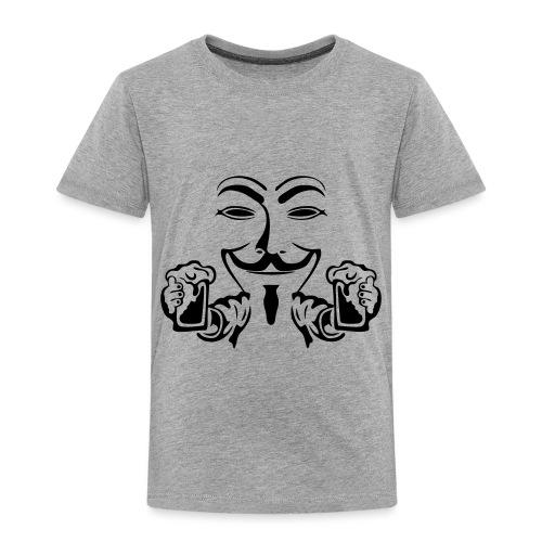 anonymous boit mousse biere alcool humou - T-shirt Premium Enfant