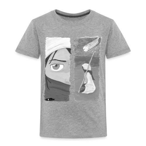 2panels #1 Ankunft (schwarz-weiß) - Kinder Premium T-Shirt
