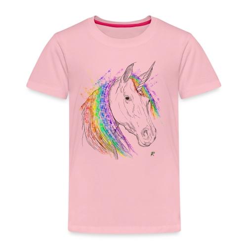 Unicorno - Maglietta Premium per bambini