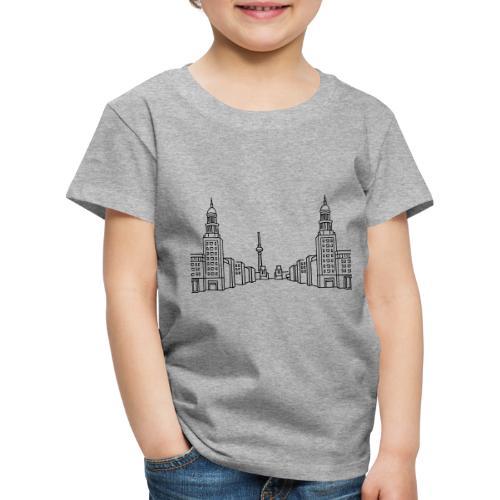 Frankfurter Tor Berlino - Maglietta Premium per bambini