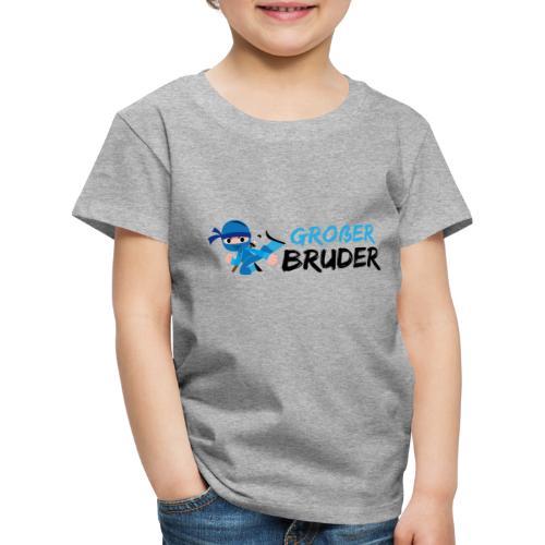 Ninja - Großer Bruder - Kinder Premium T-Shirt