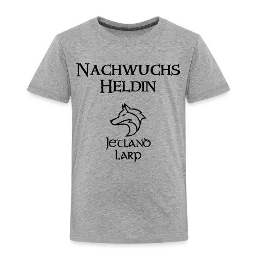 Nachwuchsheldin black png - Kinder Premium T-Shirt