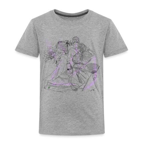 Geisha color - Maglietta Premium per bambini