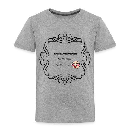 Motus et bouche cousue - T-shirt Premium Enfant