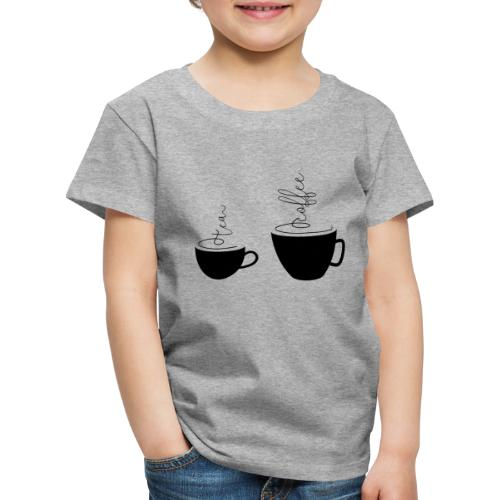 0253 Coffee Mug | Teacup | Coffee | tea - Kids' Premium T-Shirt