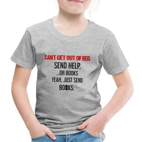 0278 books | Funny | Yeah | Bookrebels | Read - Kids' Premium T-Shirt