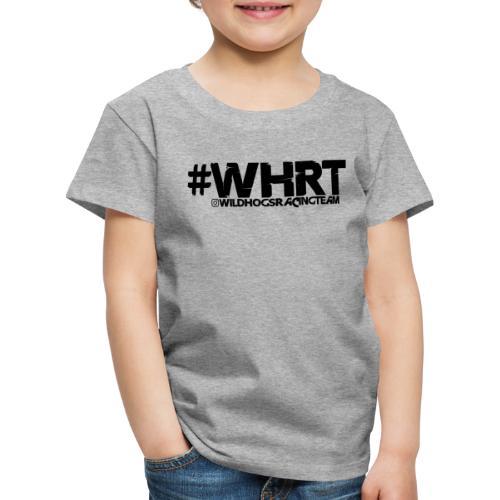 WHRT Classic Black - Kinder Premium T-Shirt