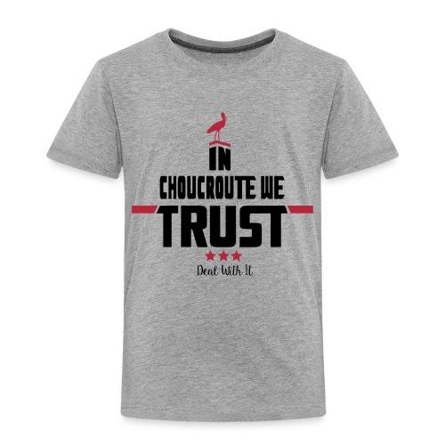 FINAL FILES black letters - T-shirt Premium Enfant