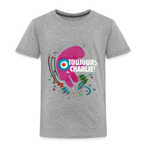 Toujours Charlie interprété par l'artiste C215 - T-shirt Premium Enfant