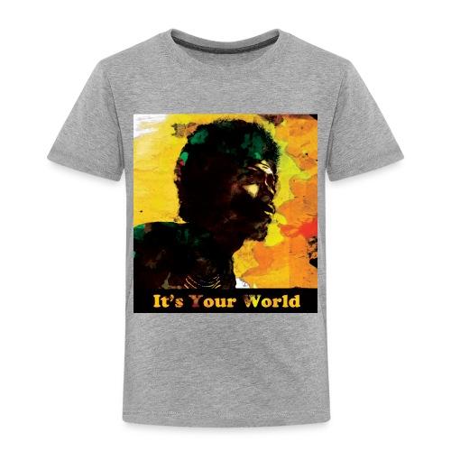 Gil Scott Heron It s Your World - Kids' Premium T-Shirt