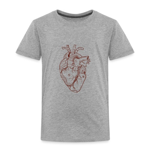 Beaten Heart - Kids' Premium T-Shirt