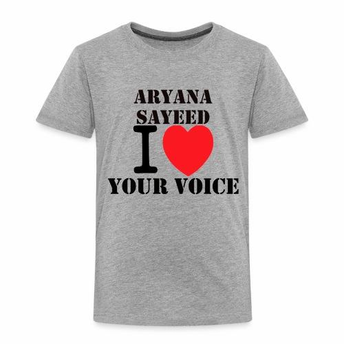 Aryana Sayeed fan - Kinder Premium T-Shirt